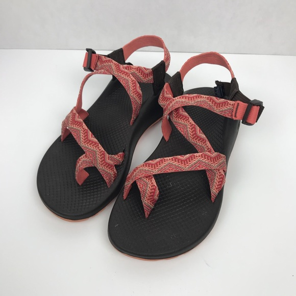 0dc88e788511 Chaco Shoes - Chaco sandals size 9w orange coral adjustable